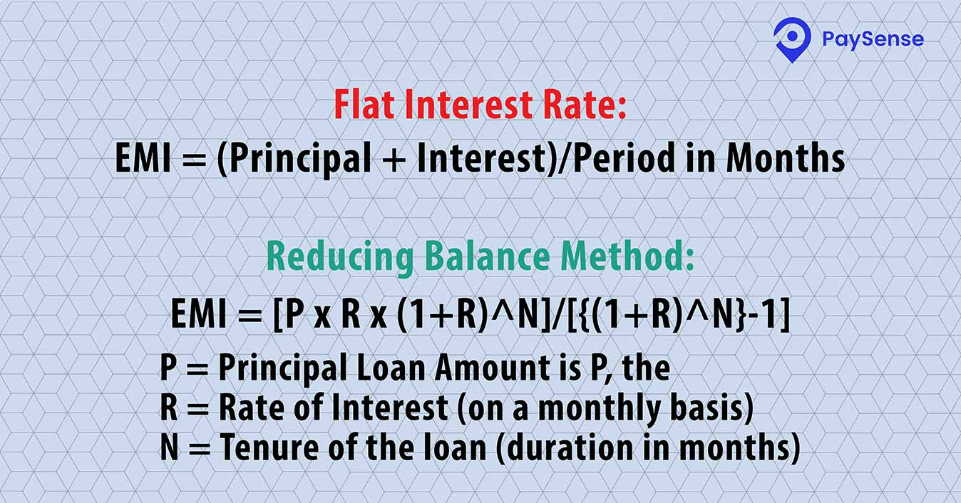 Which Interest Rate Is Considered While Calculating Emi Simple Interest Or Compound Interest Paysense Blog
